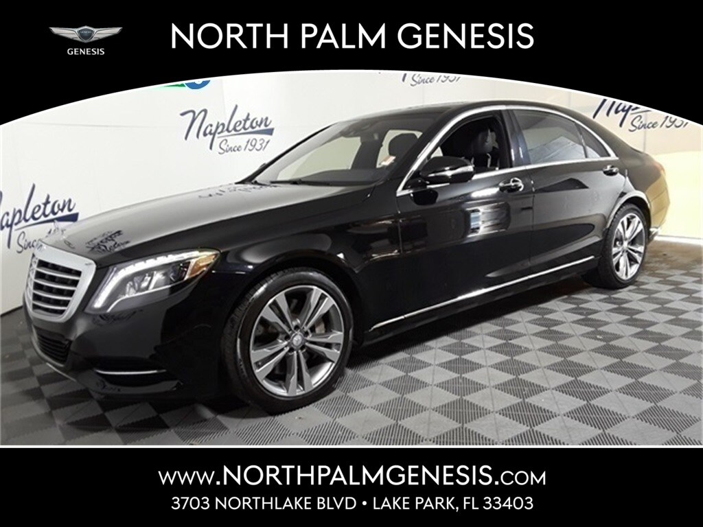 Photo Used 2015 Mercedes-Benz S-Class West Palm Beach