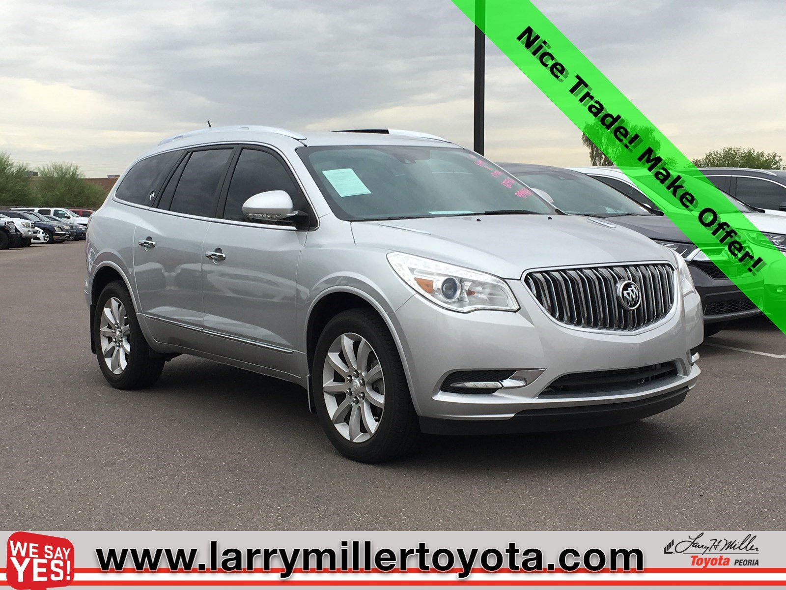 Photo Used 2017 Buick Enclave For Sale  Peoria AZ  Call 602-910-4763 on Stock 91948A