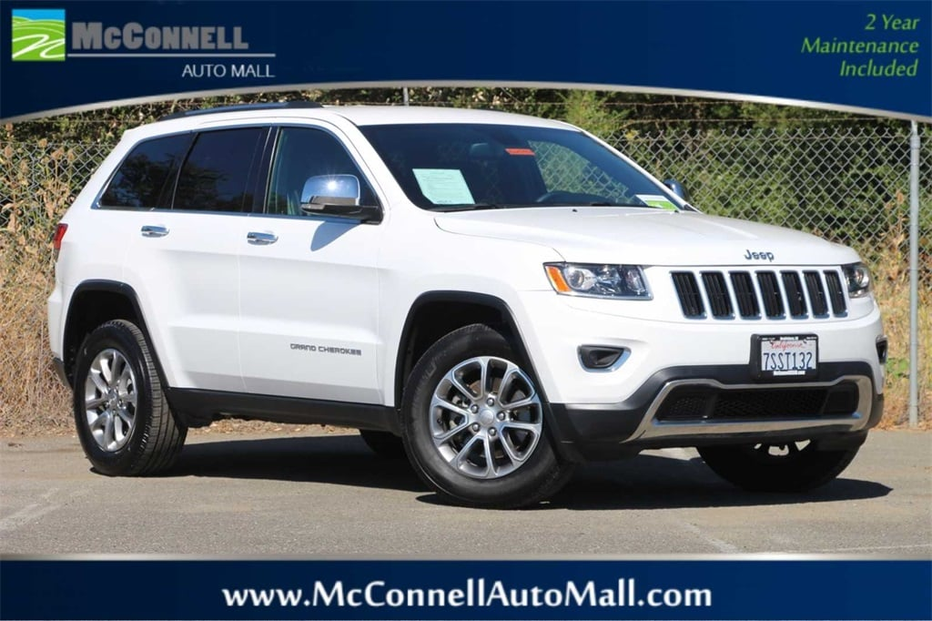 Photo 2016 Jeep Grand Cherokee Limited 4x4 SUV - Certified Used Car Dealer Serving Santa Rosa  Windsor CA