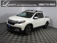 Pre-Owned 2018 Honda Ridgeline RTL-E AWD Truck Crew Cab for Sale in Sioux Falls near Brookings