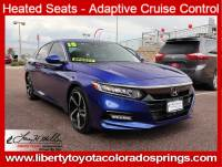 Used 2018 Honda Accord Sedan Sport 2.0T Sport 2.0T Manual For Sale in Colorado Springs, CO