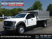 2019 Ford F-450 SD SuperCab 4x4 XL w/12' Alum Landscape Dump Body
