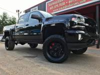 2017 Chevrolet Silverado 1500 LTZ CREW CAB 4WD BLACK OPS EDITION CUSTOM LIFTED