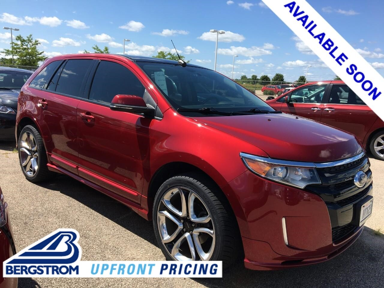 Photo Used 2014 Ford Edge 4dr Sport AWD For Sale in Oshkosh, WI
