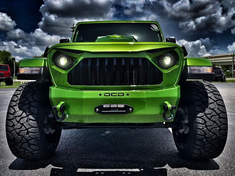 Photo Used 2018 Jeep All-New Wrangler Unlimited MOJITO FROG CUSTOM LIFTED LEATHER NAV HARDTOP