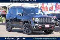 2018 Jeep Renegade Trailhawk 4x4 SUV - Certified Used Car Dealer Serving Sacramento, Roseville, Rocklin & Citrus Heights CA