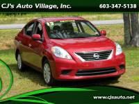 2013 Nissan Versa 4dr Sdn CVT 1.6 SV
