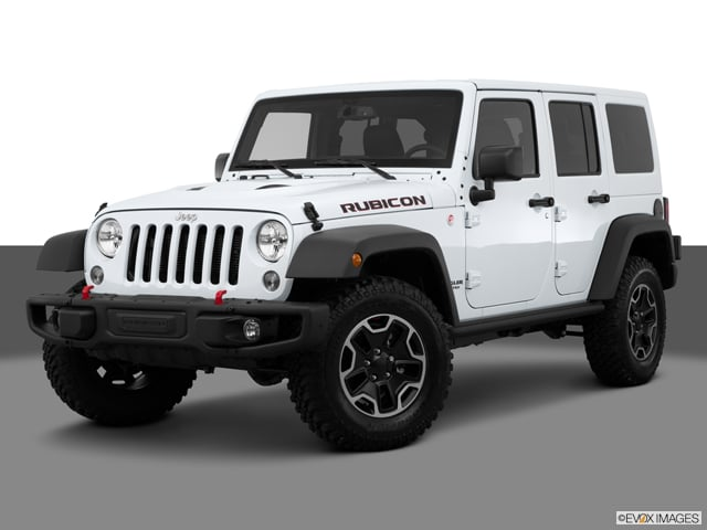 Photo Used 2015 Jeep Wrangler Unlimited 5 Door 4X4 SUV 4x4 Rubicon SUV in Chandler, Serving the Phoenix Metro Area