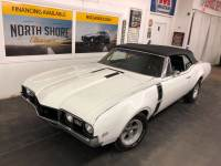 1968 Oldsmobile Cutlass -CONVERTIBLE-BIG BLOCK with 4 SPEED-12 BOLT-PS-PB-GOOD CONDITION-SEE VIDEO