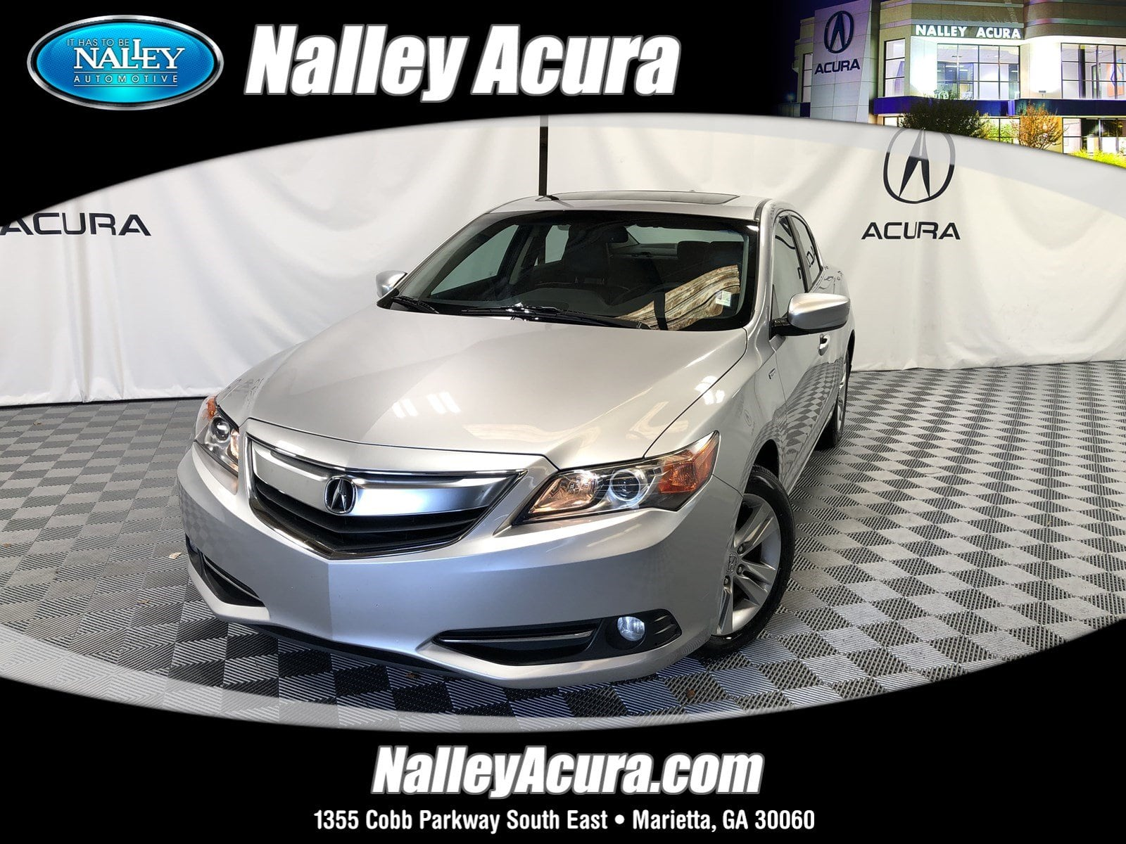Photo Pre-Owned 2013 Acura ILX Hybrid Tech Pkg in Atlanta GA