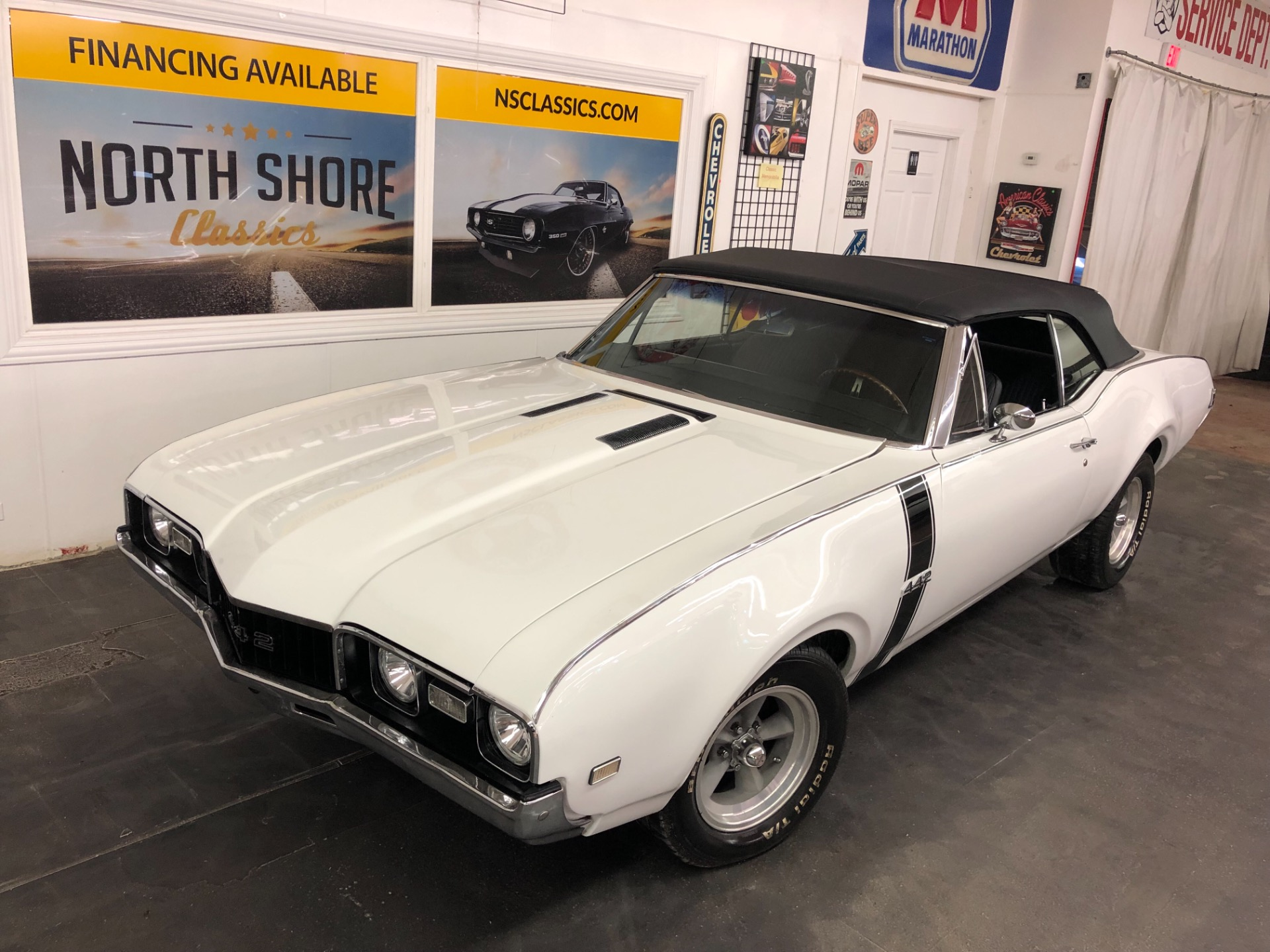 Photo 1968 Oldsmobile Cutlass -CONVERTIBLE-BIG BLOCK with 4 SPEED-12 BOLT-PS-PB-GOOD CONDITION-SEE VIDEO