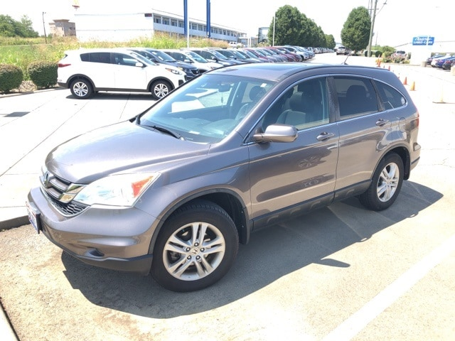 Photo Used 2011 Honda CR-V EX-L For Sale in Monroe OH