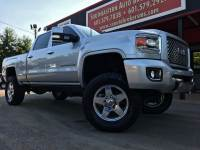 2015 GMC Sierra 2500HD DENALI CREW CAB SHORT BED 4WD CUSTOM LIFTED