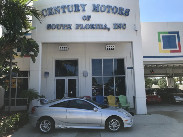Photo 2003 Toyota Celica GT 1 Owner Clean CarFax Original Miles Leather Sunroof