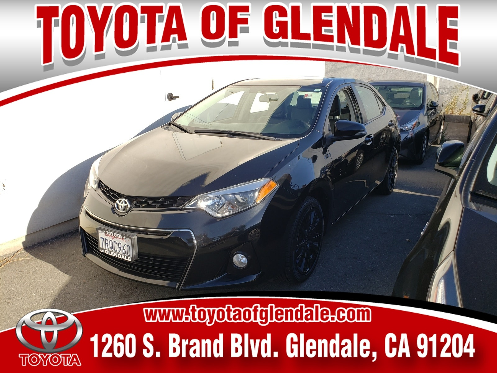 Photo Used 2016 Toyota Corolla S Special Edition For Sale  Glendale CA  Serving Los Angeles  2T1BURHE2GC536319