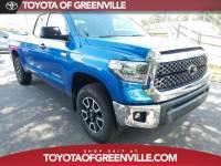Certified 2018 Toyota Tundra SR5 5.7L V8 w/FFV Truck Double Cab in Greenville SC