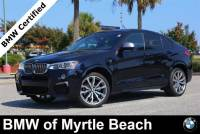 Certified Used 2017 BMW X4 Sports Activity Coupe For Sale in Myrtle Beach, South Carolina