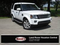 Used 2016 Land Rover LR4 HSE (4WD 4dr HSE *Ltd Avail*) in Houston