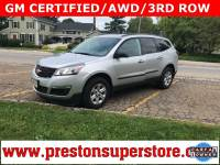Certified Used 2017 Chevrolet Traverse LS SUV in Burton, OH