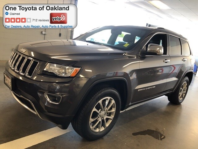 Photo Pre-Owned 2014 Jeep Grand Cherokee Limited SUV in Oakland, CA