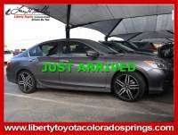 Used 2017 Honda Accord Sedan Sport Sport CVT For Sale in Colorado Springs, CO