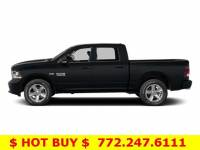 Pre-Owned 2014 Ram 1500 2WD Crew Cab 5.7 Ft Box Big Horn