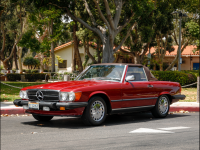 1986 Mercedes-Benz 560 SL Convertible