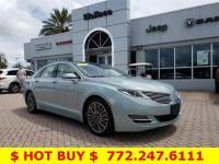 Pre-Owned 2014 LINCOLN MKZ 4dr Sdn Hybrid FWD