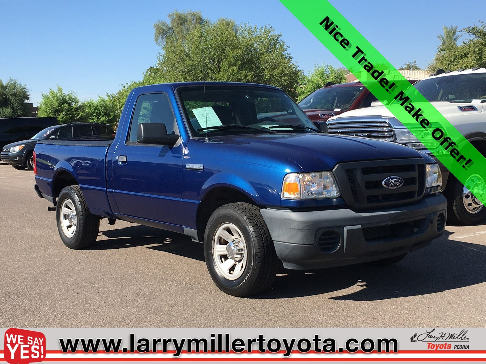Photo Used 2010 Ford Ranger For Sale  Peoria AZ  Call 602-910-4763 on Stock 91532A