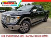 2018 Nissan Titan Platinum Reserve Truck Crew Cab 4x4