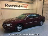 2007 Buick LaCrosse CX Repairable Hail Damage