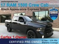 Used 2017 Ram 1500 Crew Cab 4x4 HEMI For Sale at Paul Sevag Motors, Inc. | VIN: 3C6RR7KT9HG794637