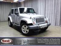 Pre-Owned 2008 Jeep Wrangler 4WD 4dr Unlimited Sahara