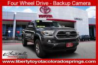 Certified 2017 Toyota Tacoma SR5 SR5 Double Cab 5 Bed V6 4x4 AT For Sale in Colorado Springs