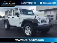 2016 Jeep Wrangler JK Unlimited Sport 4X4 SUV Lafayette IN