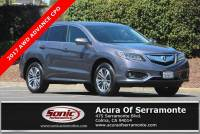 Certified 2017 Acura RDX V6 AWD with Advance Package For Sale in Colma CA   Stock: PHL018700