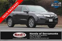 2016 Acura MDX 3.5L w/Technology Package in Colma