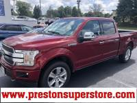 Certified Used 2019 Ford F-150 Platinum Truck in Burton, OH