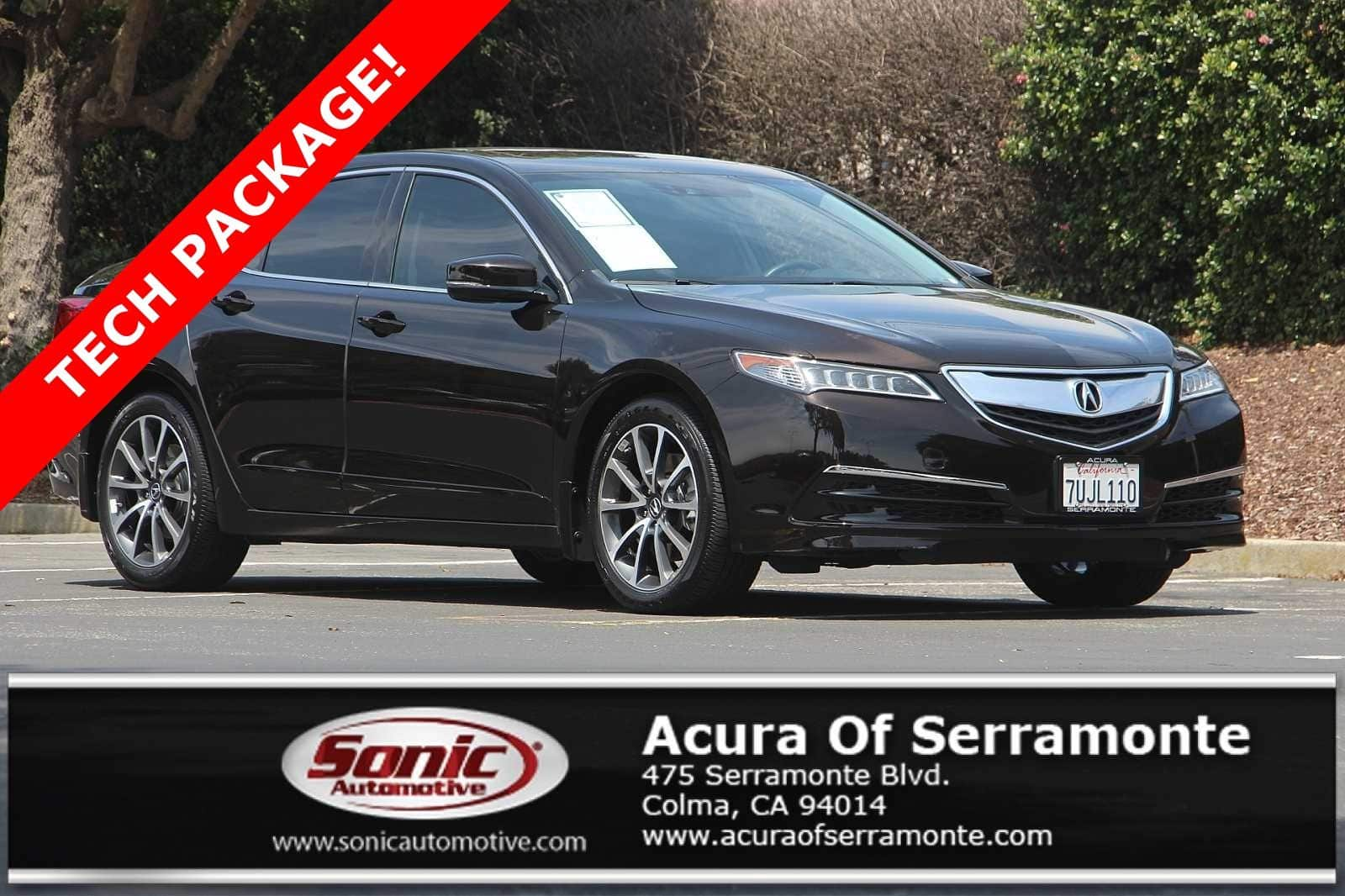 Photo Used 2016 Acura TLX TLX 3.5 V-6 9-AT SH-AWD with Technology Package For Sale in Colma CA  Stock PGA003327  San Francisco Bay Area