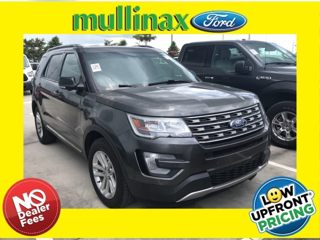 Photo Used 2016 Ford Explorer XLT W Leather, Hands Free Liftgate SUV I-4 cyl in Kissimmee, FL