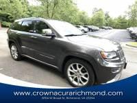 Pre-Owned 2014 Jeep Grand Cherokee Summit 4x4 in Richmond VA