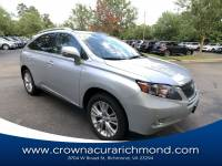 Pre-Owned 2012 LEXUS RX 450h Base (CVT) in Richmond VA