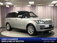 Pre-Owned 2015 Land Rover Range Rover 3.0L V6 Supercharged HSE SUV in Boston, MA