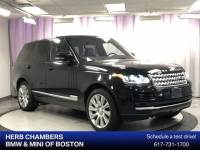 Pre-Owned 2016 Land Rover Range Rover 3.0L V6 Supercharged HSE SUV in Boston, MA