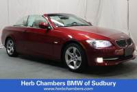 Pre-Owned 2012 BMW 335i RWD Convertible in Boston, MA