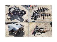 SKID STEER ATTACHMENTS: CAT BP 15B SWEEPER ...