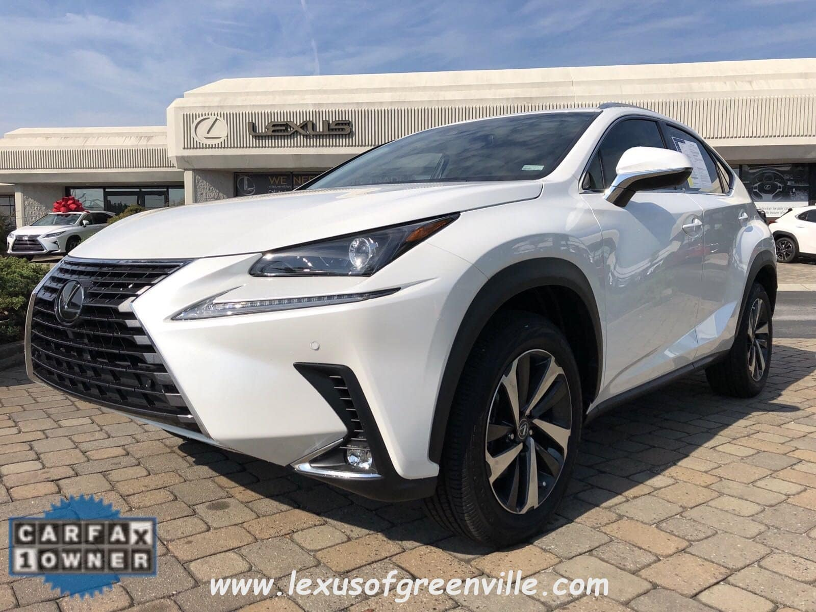 Photo Pre-Owned 2019 LEXUS NX 300 SUV in Greenville SC