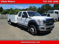 2015 Ford F-550 CREW CAB 4X4 11 FOOT UTILITY BODY