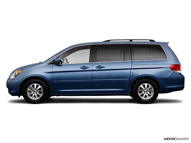 Photo Used 2010 Honda Odyssey For Sale at Moon Auto Group  VIN 5FNRL3H64AB036415