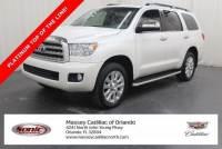 Pre-Owned 2017 Toyota Sequoia Platinum 4WD FFV (Natl) VIN5TDDW5G10HS150520 Stock NumberTHS150520